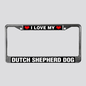 I Love My Dutch Shepherd Dog