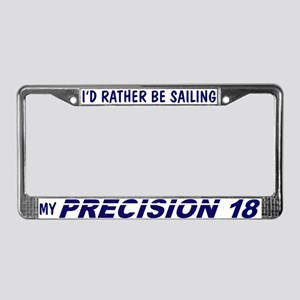 Precision 18 License Plate Frame