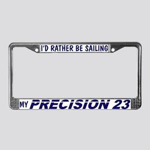 Precision 23 License Plate Frame
