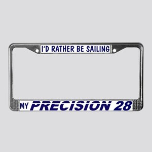 Precision 28 License Plate Frame