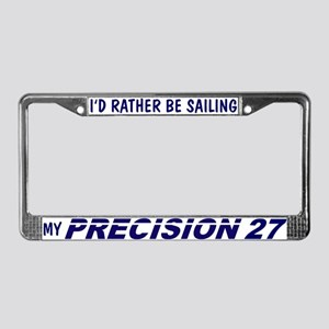 Precision 27 License Plate Frame