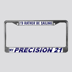 Precision 21 License Plate Frame