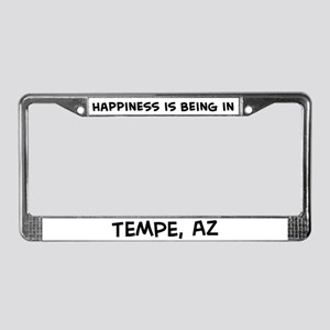 Happiness is Tempe License Plate Frame