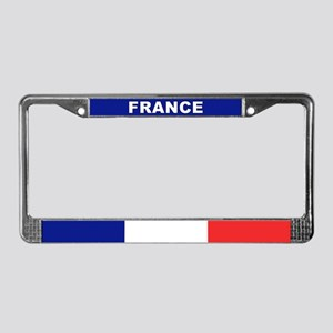 France World Flag License Plate Frame