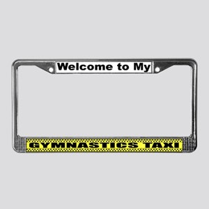 Mom's Gymnastics Taxi License Plate Frame
