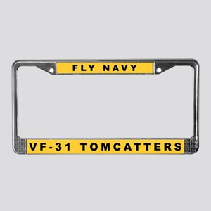VF-31 License Plate Frame