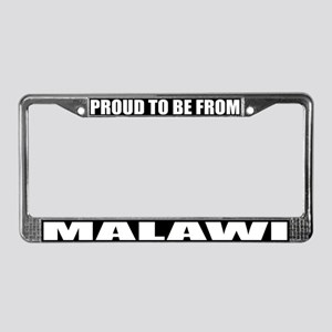 Malawi License Plate Frame
