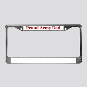 Proud Ranger Dad License Plate Frame
