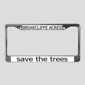 Briarcliffe Acres License Plate Frame