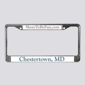 Chestertown License Plate Frame