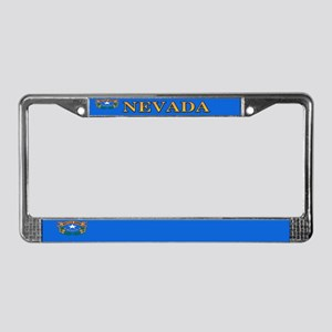 Nevada State Flag License Plate Frame