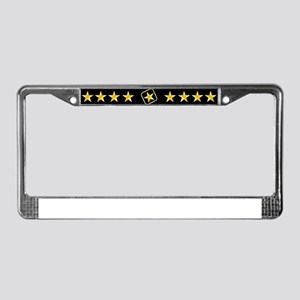 Proud Army Husband License Plate Frame