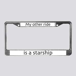 My other ride is a starship