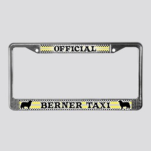 Official Berner Taxi License Plate Frame