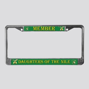 Daughters of the Nile License Plate Frame