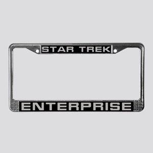 Star Trek Enterprise License Plate Frame