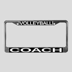 Volleyball Coach License Plate Frame