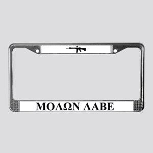 Come and Take It (B&W) License Plate Frame