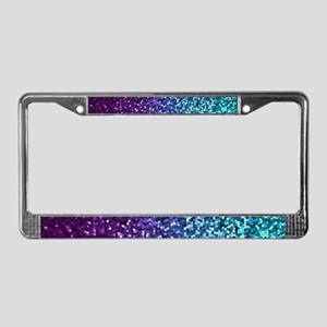 Mosaic Sparkley 2 License Plate Frame