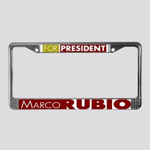 Marco Rubio for President V1 License Plate Frame