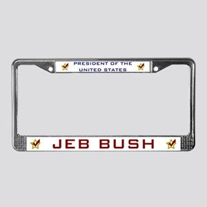 Jeb Bush President USA License Plate Frame