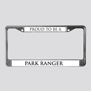 Proud Park Ranger License Plate Frame