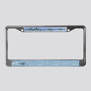 Dolphins License Plate Frame