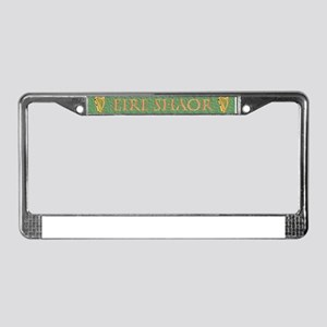 Eire Shaor/Unite Ireland Now! License Plate Frame