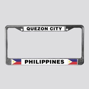 Quezon City Philippines License Plate Frame