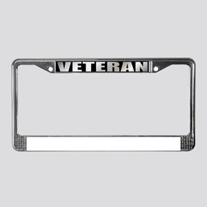 Vietnam Veteran Service Ribbon License Plate Frame