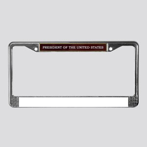 Jeb Bush President V3 License Plate Frame