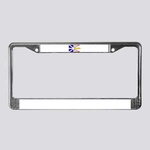 Newfoundland Flag License Plate Frame
