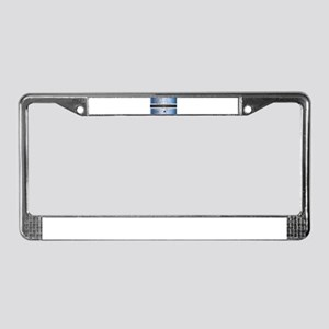 Botswana Isolated On Map License Plate Frame