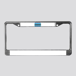 Botswana Flag License Plate Frame