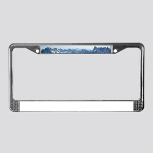MOUNTAINS-Pro PHOTO License Plate Frame