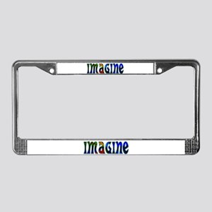 IMAGINE License Plate Frame