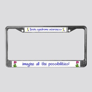 DSA License Plate Frame