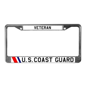 Coast Guard License Plate Frames Cafepress