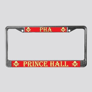 PHA License Plate Frame - Red