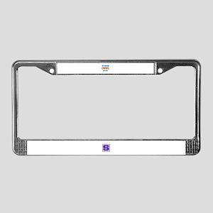 Finn Cool Dude License Plate Frame