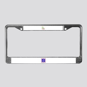Let's go to Finland License Plate Frame