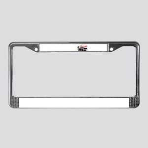57 Chevy Dragster License Plate Frame