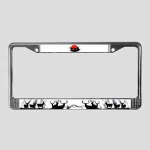 Shadow bucks License Plate Frame