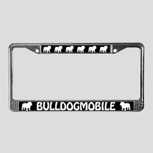 Bulldogmobile License Plate Frame