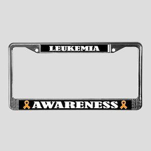 Leukemia Awareness License Plate Frame