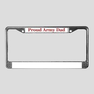 Ranger Dad License Plate Frame