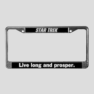 Star Trek License Plate Frame