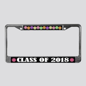 Class Of 2018 School License Frame Gift