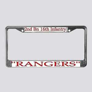 2nd Bn 16th Infantry License Plate Frame
