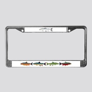 Sea trout Sea Run brown trout License Plate Frame